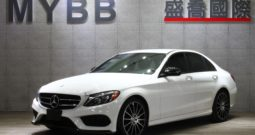 2016 C300 AMG Line night Package 19″WHEELS