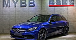 (已收訂)2017 BENZ C63ST AMG ESTATE night package 23P