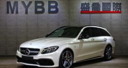 2018 BENZ C63S AMG ESTATE High-performance brake system