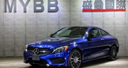 2017 C300 AMG Line COUPE LED Burmester Key GO