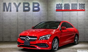 2017 BENZ CLA250 AMG package 589 RED