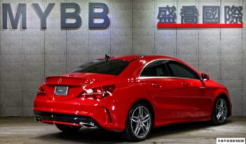 2017 BENZ CLA250 AMG package 589 RED full