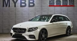 2018 BENZ E43 AMG Night Package HUD