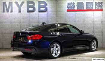 2016 BMW F36 428i Gran Coupe M sport  Carbon Black full