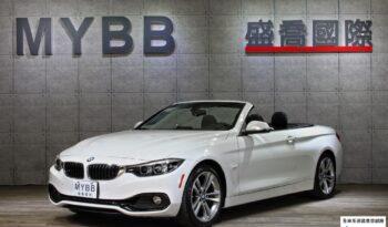 2018 BMW F33 430i convertible Sport Line