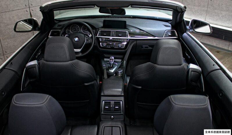 2018 BMW F33 430i convertible Sport Line full