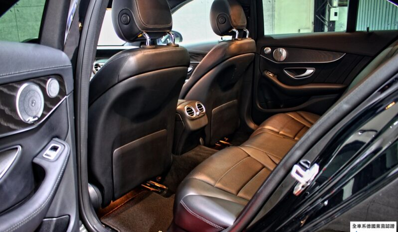 2015 C300 AMG Line LED Burmester electric tailgate full