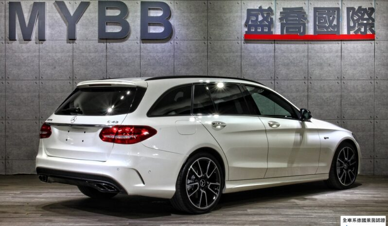 2017 BENZ C43 AMG Night Package High-performance seats 23P full