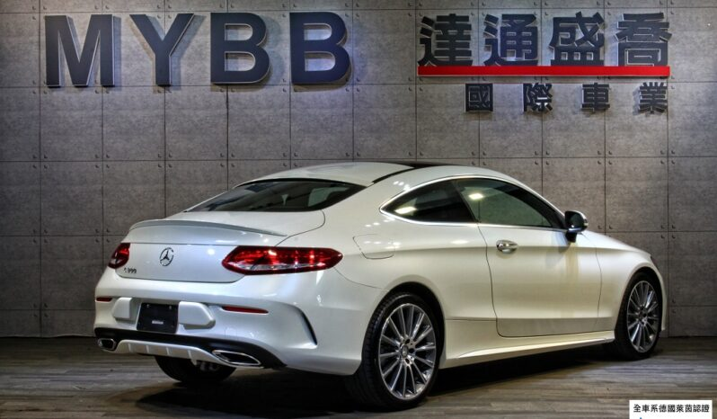 2017 BENZ C300  Coupe AMG full