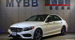 2017 BENZ C300  AMG LINE Night Package