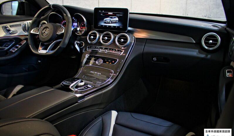 2017 BENZ C63S AMG  Estate High performance brake system full