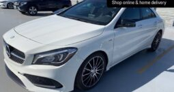 2018 BENZ CLA250 AMG Line WHITE EDITION