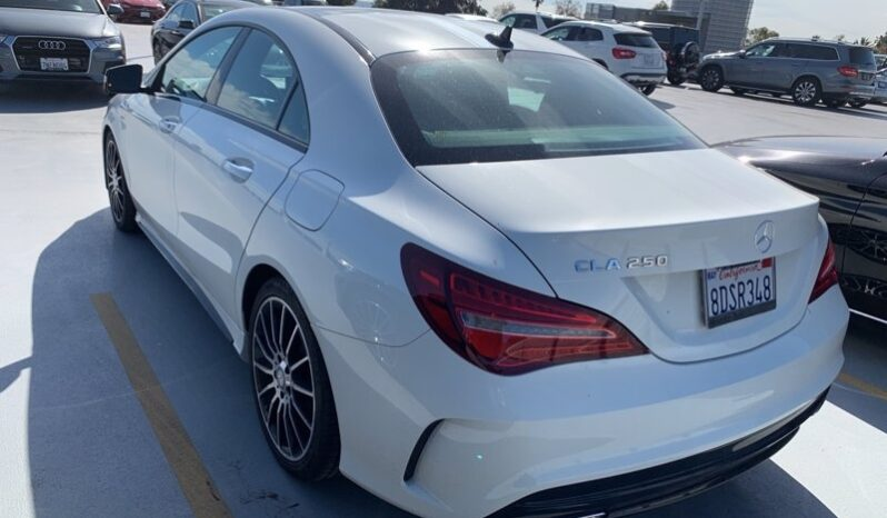 2018 BENZ CLA250 AMG Line WHITE EDITION full