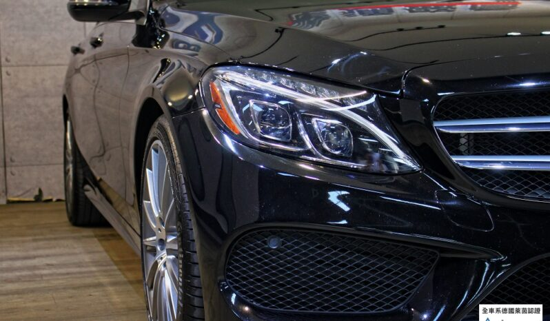 2018 BENZ C300  AMG LINE 9 speed transmission full