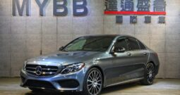 2017 BENZ C300  AMG night package 23P