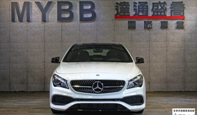 2018 BENZ CLA250 AMG White Art Edition full