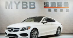 2017 BENZ C300 COUPE AMG Line